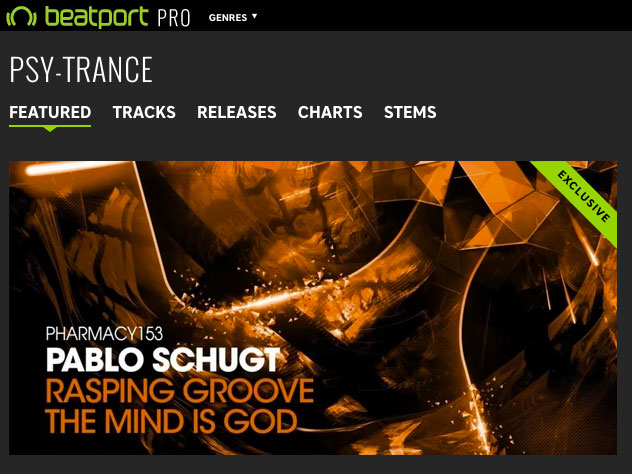 Pablo Schugt – Rasping Groove / The Mind Is God on Beatport's 10 Must Hear Psy-Trance Tracks